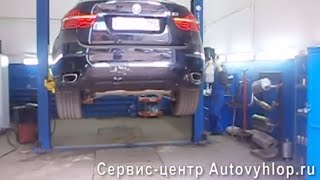 Замена катализаторов на пламегасители BMW Х6(, 2013-07-22T00:42:51.000Z)