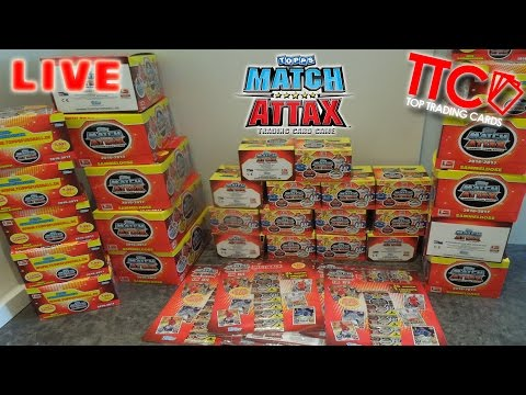 MATCH ATTAX MEGA UNBOXING   TINS DISPLAY BLISTER + QUOTENCHECK :-)