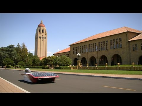 Stanford students build solar car to race across Australian outback