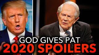 Pat Robertson Predicts Trump Will Win, Then Cause The Apocalypse