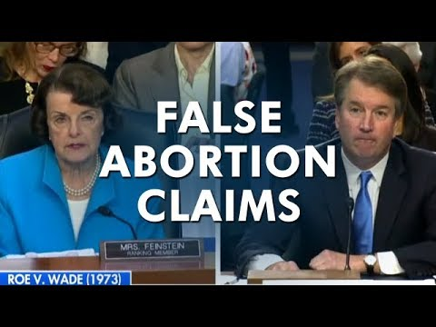 False Abortion Claims at Kavanaugh Hearing
