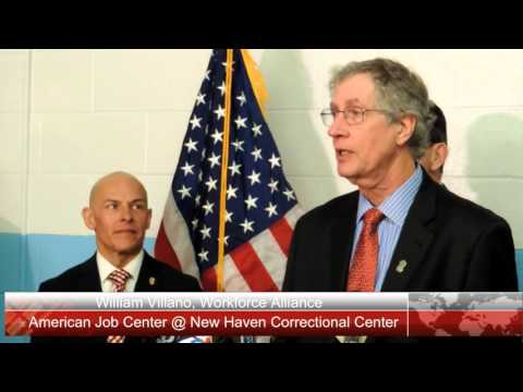 American Job Center at New Haven Correctional Center Opens Feb. 2016
