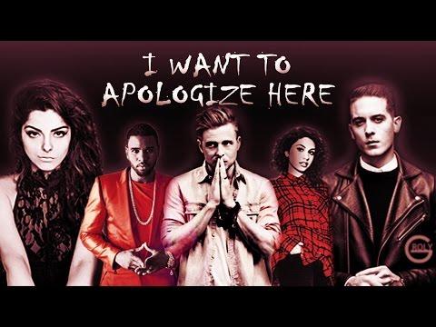 """OneRepublicJason DeruloAlessia CaraG-Eazy - """"I Want To Apologize Here"""" Mega-Mashup"""