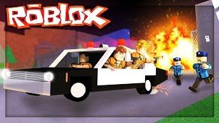 Prison de Roblox - STEALING A COP CAR - ESCAPE PRISON! (Redwood Prison Roleplay)