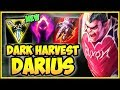 WTF! *NEW* DARK HARVEST DARIUS IS 1000% STUPID! NEW DARK HARVEST DARIUS SEASON 9! League of Legends