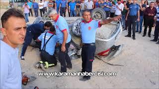 Karaman Ereğli Yolu Trafik Kazası - Karaman Haber