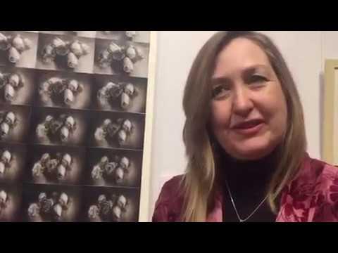 Artist Margaret Ambridge gives a brief tour of her 'til death exhibition #17APCC