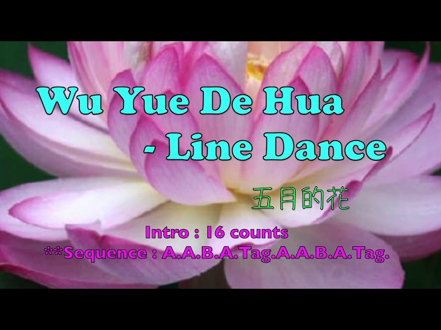 Wu Yue De Hua ( By Jennifer Jou) - Line Dance - ????