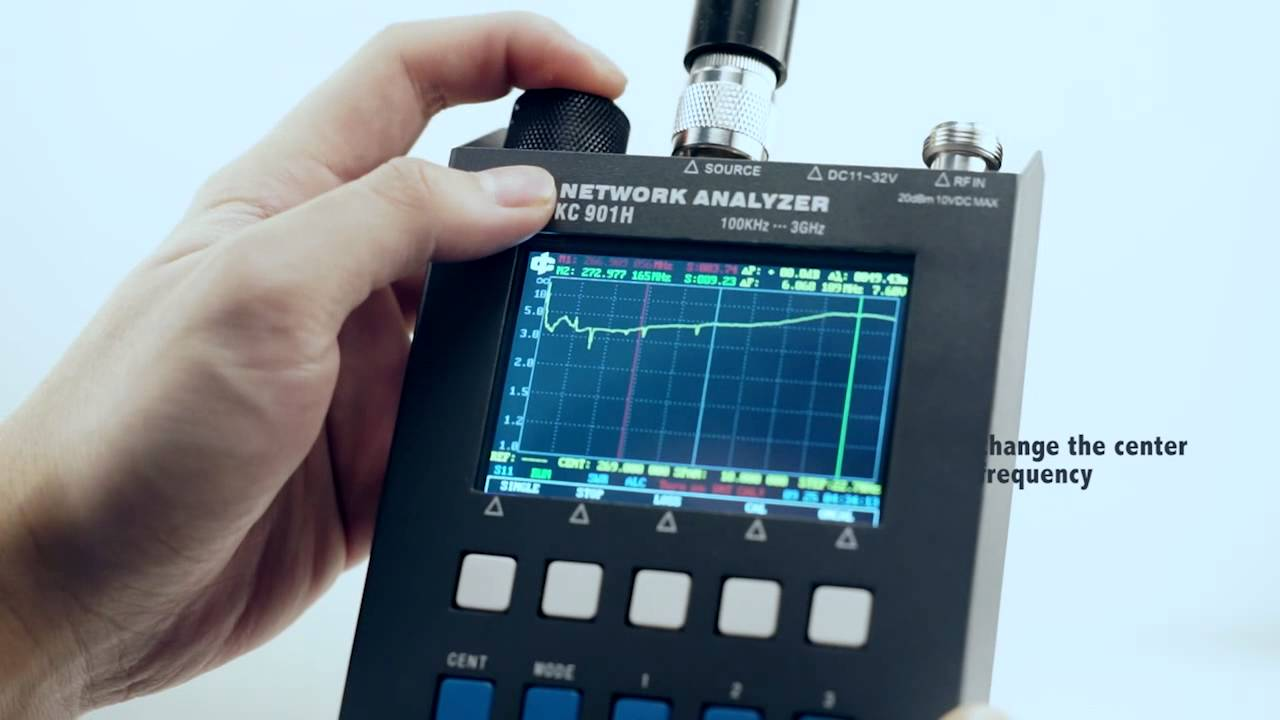 Network Analyzer Hand Held : Kc h handheld network analyzer simple review youtube