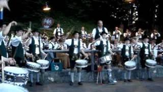 Waldfest Flintsbach 2010 (3) - Trommlergruppe Parademarsch