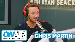 Chris Martin Talks Musical Influences & Future of Coldplay | On Air with Ryan Seacrest