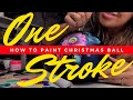 How to Paint Christmas Glass Ball Ornaments | DIY Crafts | PETRYKIVKA