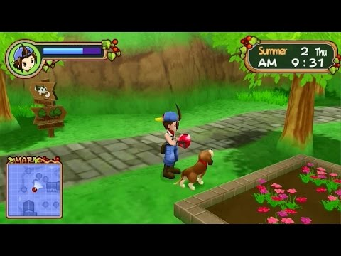 Hero Of Leaf Valley Walkthrough Part 13 - Let's Find Powerberries | Harvest Moon