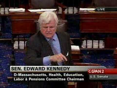 Ted Kennedy on Republicans and Minimum wage