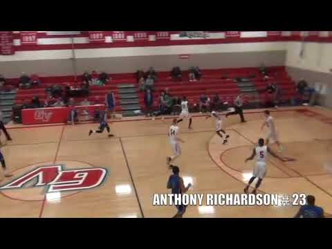 ANTHONY RICHARDSON OFFICIAL 17-18 PERU STATE HIGHLIGHT TAPE
