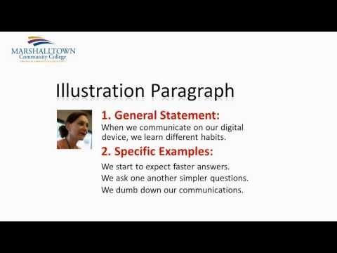 Module 09 - Illustration Paragraph