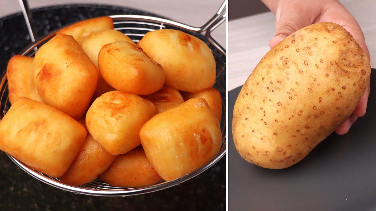 মাত্র ১ টি আলু দিয়ে ভীষণ মজার ফুলকো আলুর নাস্তা রেসিপি। Soft Alor Nasta Recipe | Potato's Snack