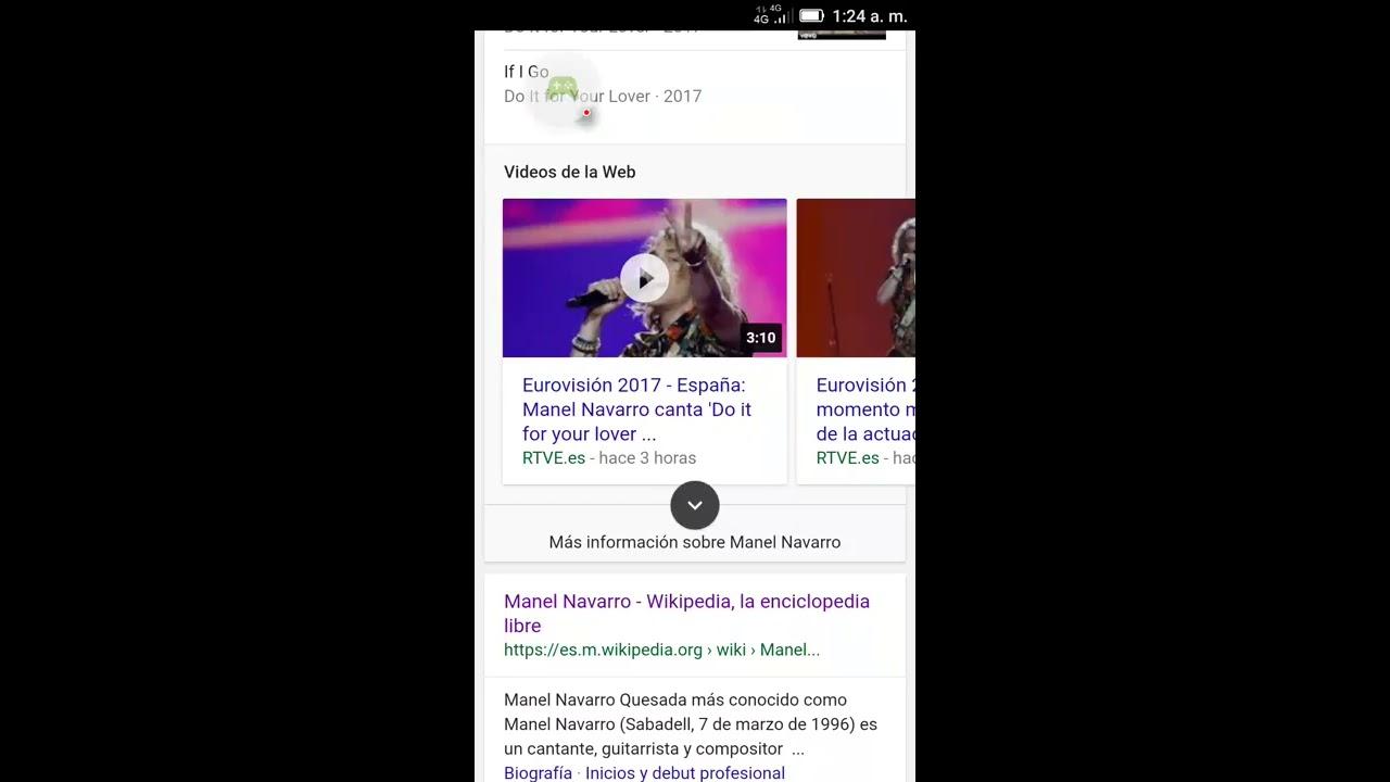 Manel Navarro Eurovision Gallo Youtube