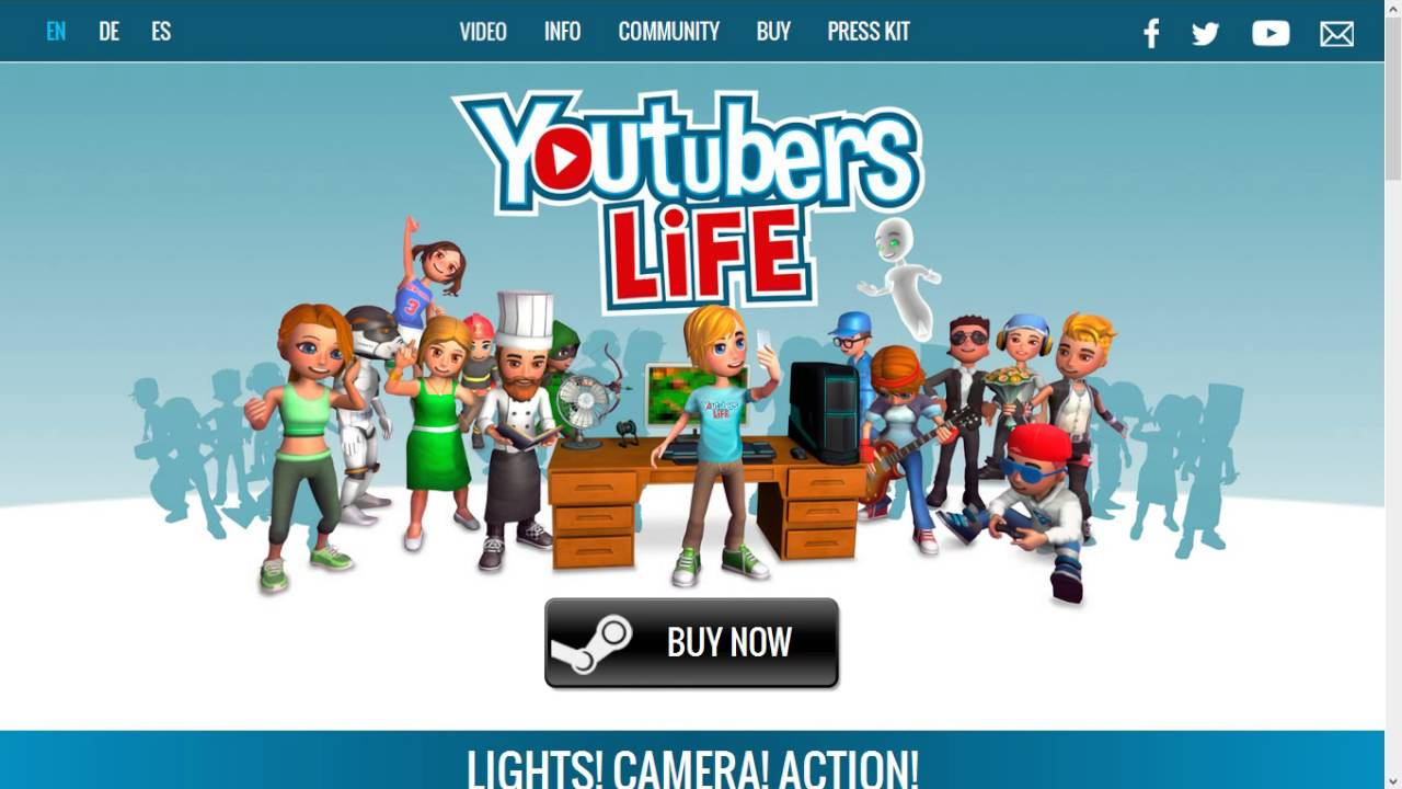 Youtubers Life | Steam CD Key Buy - YouTube