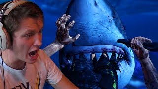 GREAT WHITE!! (Depth: Sharks vs Divers Gameplay)