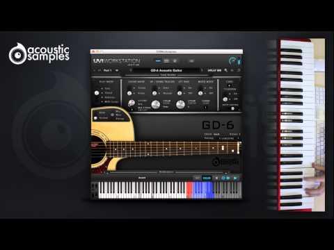 GD-6 Acoustic Guitar Strumming