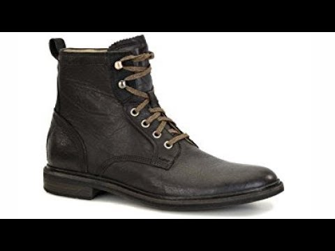 Mens Leather Ugg Boot