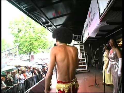 Bobby Farrell - Boney M tijdens Amsterdam Gaypride 2002