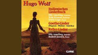 Goethe-Lieder: Aus wilhelm meister, mignon II. ()
