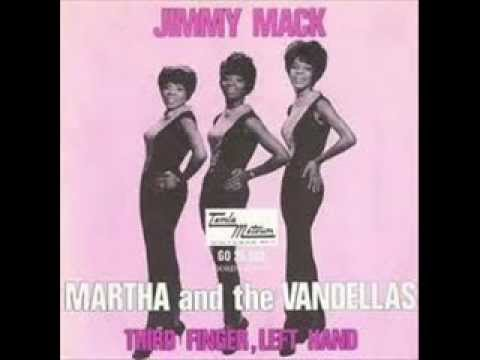 Martha Reeves The Vandellas Jimmy Mack Third Finger Left Hand Youtube