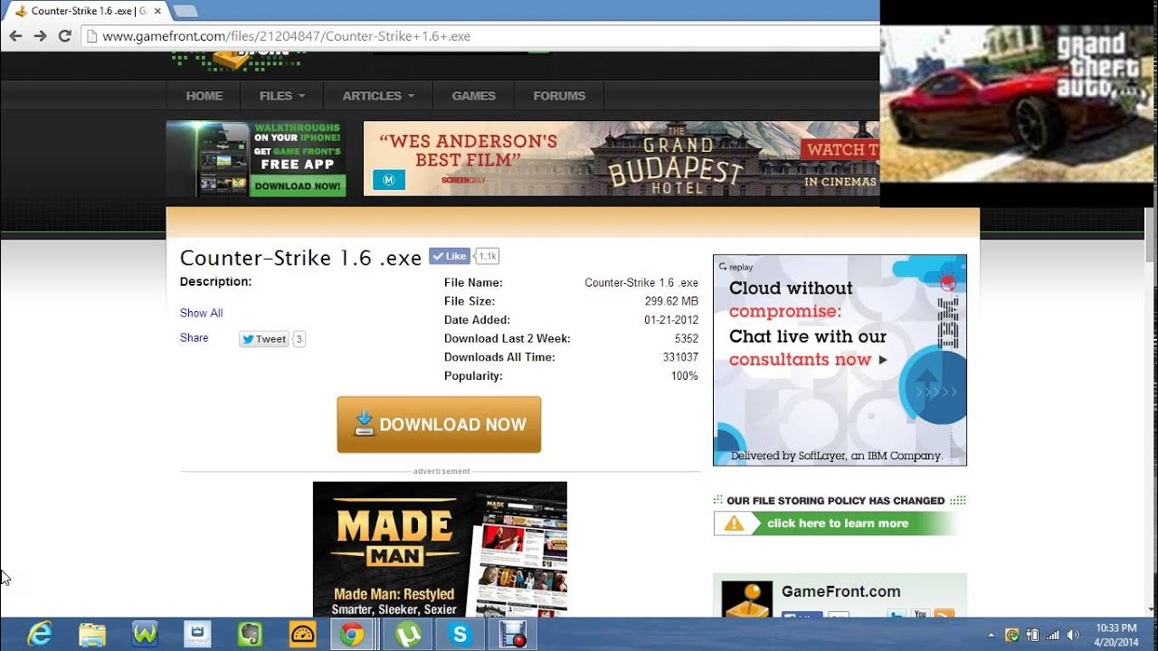 How To Download Counter Strike 16 Exe Youtube