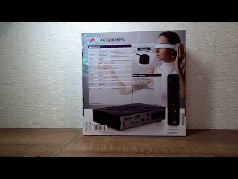 Распаковка ресивера AX 4K BOX HD61