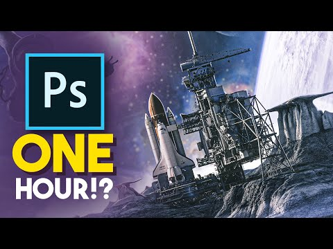 Time Challenge | Creating Art Inside One Hour With Photoshop (episode 2)