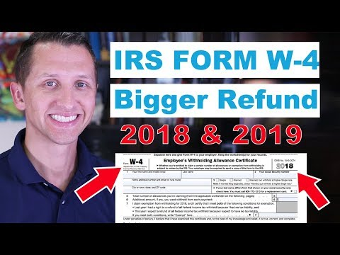 """<span class=""""title"""">IRS Form W4 Bigger Refund</span>"""