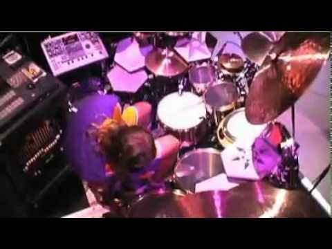 Danny Carey  Drumming Drumcam
