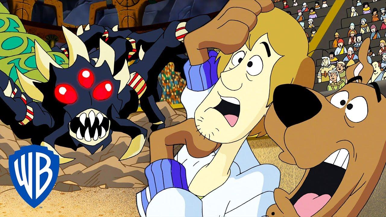 Scooby-Doo! Where's My Mummy?   The Scorpion Monster ATTACKS! 🦂   WB Kids