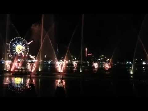 Ankara - Genclik Park: Water, lights and music show