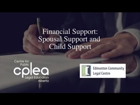 Child and Spousal Support