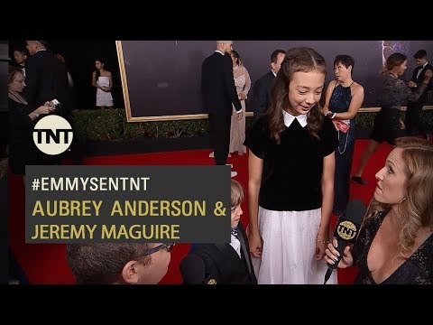EMMYS  Modern Family  Aubrey Anderson & Jeremy Maguire