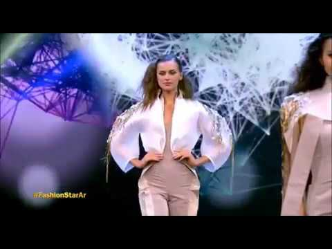 Modeling Nazem Orra Designs on Fashion Star Prime 1 Season 2