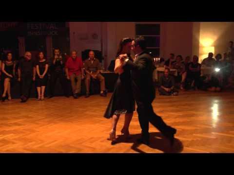 Fernando Galera und Silvina Valz 1, Tangofestival Innsbruck, Oct. 2015, introduced by Pepa Palazon