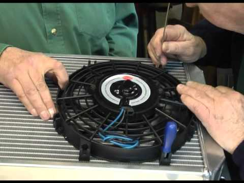 hqdefault engine cooling using the kenlowe electric fan, electric water pump revotec fan wiring diagram at n-0.co