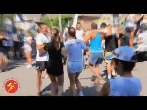 Русская пробежка Славянский образ новопавловск казаки здоровый образ жизни традиции