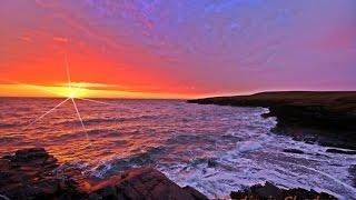 на закате Солнце красно, красно и на восходе!
