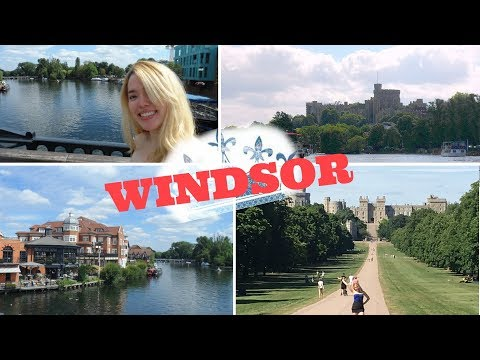 Windsor Travel Vlog | Around England!