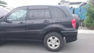Видео-тест автомобиля Toyota RAV4 (черный, Aca21-0001833, 1AZ-FSE, 2000г.)