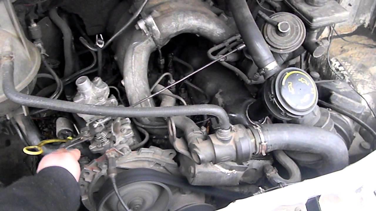 тнвд дизельном двигателе ford 2.5