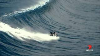 Robbie Maddison - Pipe Dream Motorcycle Surfing