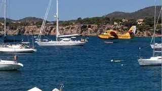 Fire Plane - Majorca July 2012