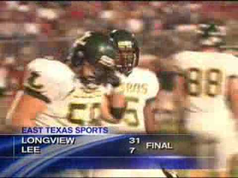 Longview vs Tyler Lee, 2009, KLTV Highlights