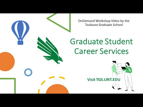 Graduate Student Career Services